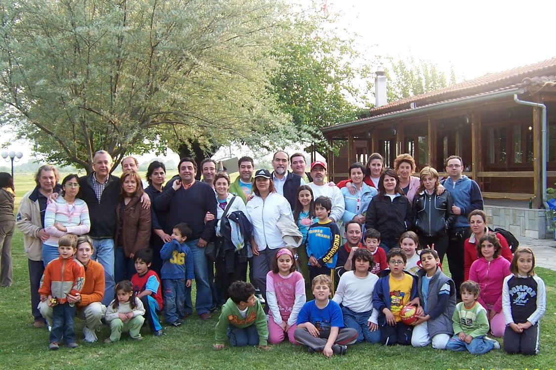 Excursion of new families of JCL in Kastania, 2006