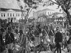 Είσοδος βασιλέα Γεωργίου Α στη Λάρισα το 1881