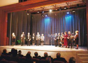 Απόδοση τιμής από την ΙΚΛ και τη Νομαρχία Λάρισας σε οικογένειες που διέσωσαν Εβραίους στη διάρκεια της κατοχής (Ιανουάριος 2007)