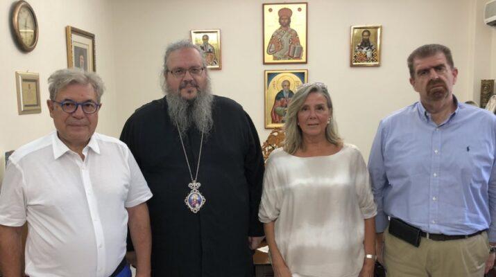 Εθιμοτυπική Επίσκεψη Του Νέου Δ.Σ. Της Ισραηλιτικής Κοινότητας στην Ιερά Μητρόπολη Λάρισας